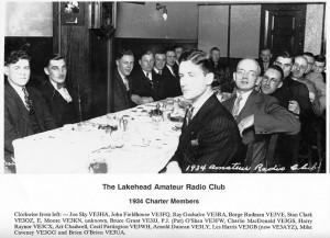 Lakehead Amateur Radio Club Founders